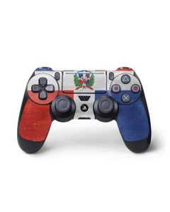 Dominican Republic Flag Distressed PS4 Pro/Slim Controller Skin