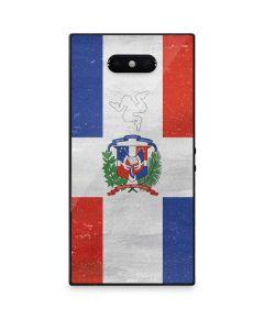 Dominican Republic Flag Distressed Razer Phone 2 Skin