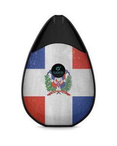 Dominican Republic Flag Distressed Suorin Drop Vape Skin