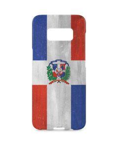 Dominican Republic Flag Faded Galaxy S8 Plus Lite Case