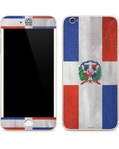 Dominican Republic Flag Faded iPhone 6/6s Plus Skin