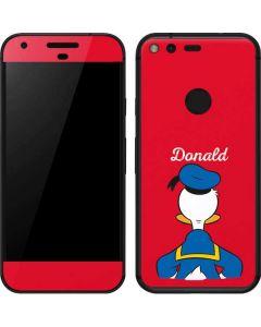 Donald Duck Backwards Google Pixel Skin