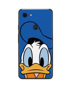 Donald Duck Up Close Google Pixel 3 XL Skin