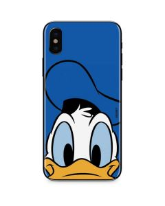 Donald Duck Up Close iPhone X Skin