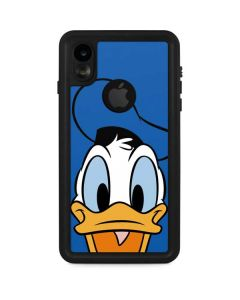 Donald Duck Up Close iPhone XR Waterproof Case