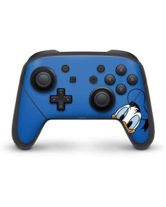 Donald Duck Up Close Nintendo Switch Pro Controller Skin