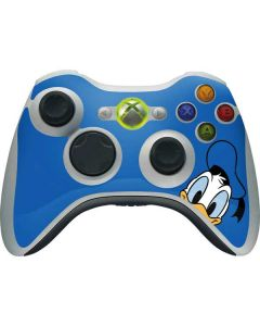 Donald Duck Up Close Xbox 360 Wireless Controller Skin