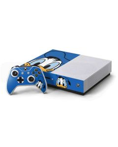 Donald Duck Up Close Xbox One S Console and Controller Bundle Skin