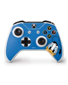 Donald Duck Up Close Xbox One S Controller Skin