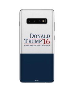 Donald Trump 2016 Galaxy S10 Plus Skin