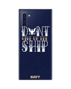 Dont Give Up The Ship Galaxy Note 10 Skin