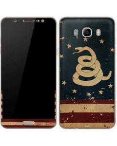 Dont Tread On Me American Flag Galaxy J7 Skin