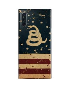 Dont Tread On Me American Flag Galaxy Note 10 Skin
