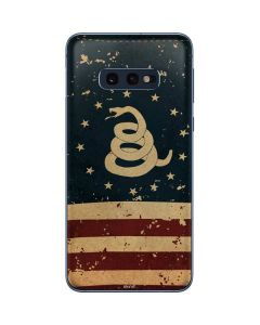 Dont Tread On Me American Flag Galaxy S10e Skin