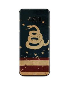 Dont Tread On Me American Flag Galaxy S8 Skin