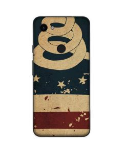 Dont Tread On Me American Flag Google Pixel 3a Skin