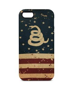 Dont Tread On Me American Flag iPhone 5/5s/SE Pro Case