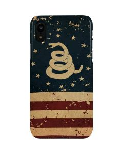 Dont Tread On Me American Flag iPhone XR Lite Case