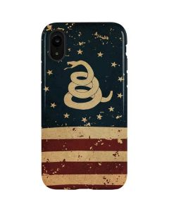 Dont Tread On Me American Flag iPhone XR Pro Case