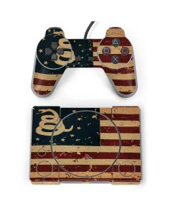 Dont Tread On Me American Flag PlayStation Classic Bundle Skin