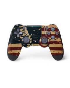 Dont Tread On Me American Flag PS4 Pro/Slim Controller Skin