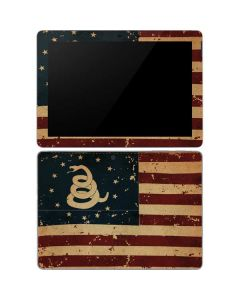 Dont Tread On Me American Flag Surface Go Skin