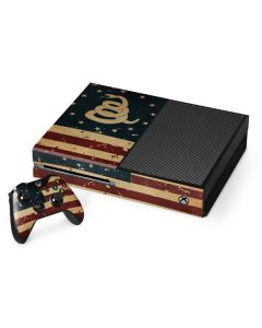 Dont Tread On Me American Flag Xbox One Console and Controller Bundle Skin