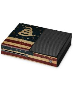 Dont Tread On Me American Flag Xbox One Console Skin