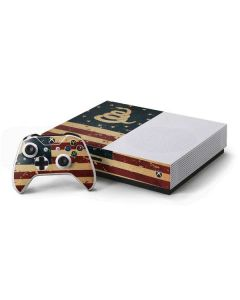 Dont Tread On Me American Flag Xbox One S Console and Controller Bundle Skin