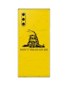 Dont Tread On Me Galaxy Note 10 Skin