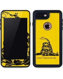 Dont Tread On Me iPhone 8 Plus Waterproof Case