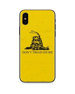 Dont Tread On Me iPhone XS Skin