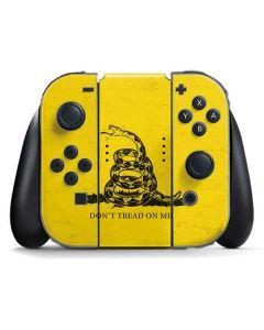 Dont Tread On Me Nintendo Switch Joy Con Controller Skin