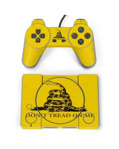 Dont Tread On Me PlayStation Classic Bundle Skin
