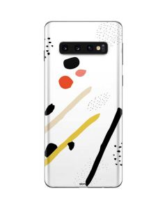 Dots and Dashes Galaxy S10 Skin
