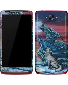Dragon and the Wolf Motorola Droid Skin
