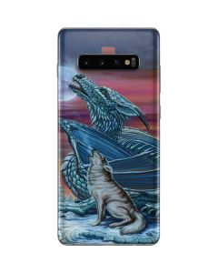 Dragon and the Wolf Galaxy S10 Plus Skin
