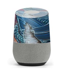 Dragon and the Wolf Google Home Skin
