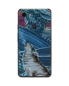 Dragon and the Wolf Google Pixel 3 XL Skin