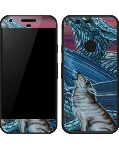 Dragon and the Wolf Google Pixel Skin