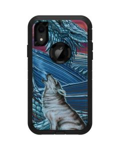Dragon and the Wolf Otterbox Defender iPhone Skin