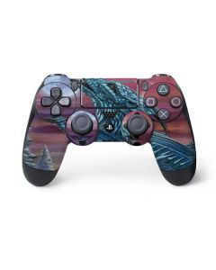 Dragon and the Wolf PS4 Pro/Slim Controller Skin