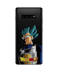 Dragon Ball Super Vegeta Galaxy S10 Plus Skin