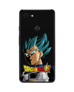 Dragon Ball Super Vegeta Google Pixel 3 XL Skin