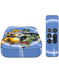 Dragon Ball Z Goku & Cell Apple TV Skin