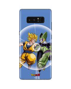 Dragon Ball Z Goku & Cell Galaxy Note 8 Skin