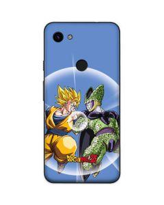 Dragon Ball Z Goku & Cell Google Pixel 3a Skin