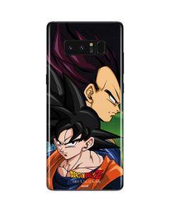Dragon Ball Z Goku & Vegeta Galaxy Note 8 Skin