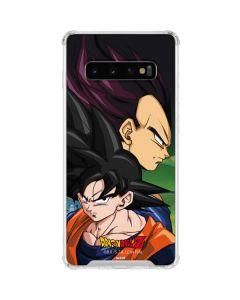 Dragon Ball Z Goku & Vegeta Galaxy S10 Clear Case