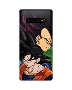 Dragon Ball Z Goku & Vegeta Galaxy S10 Plus Skin